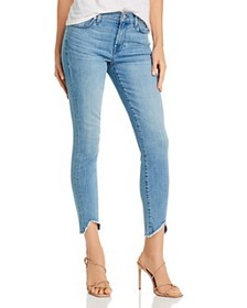 7 For All Mankind - Ankle Skinny Jeans in Alta Blu