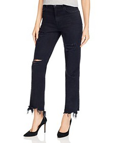 J Brand - Jules High-Rise Ankle Straight Jeans in