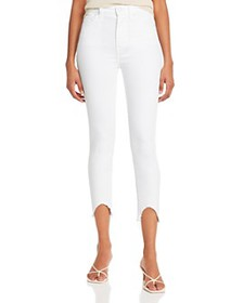 7 For All Mankind - Ankle Skinny Jeans with Wave H