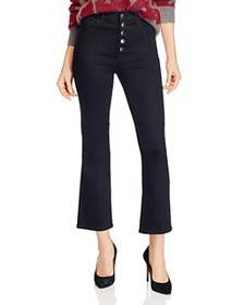 J Brand - Lillie High-Rise Ankle Flared Jeans in V