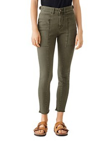 DL1961 - Farrow High-Rise Cropped Skinny Jeans in