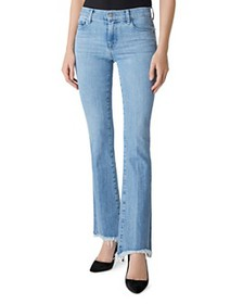 J Brand - Sallie Mid-Rise Bootcut Jeans in Cloud