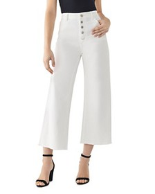 DL1961 - Hepburn High-Rise Cropped Wide-Leg Jeans
