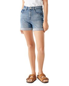 DL1961 - Cecilia Cuffed Denim Shorts in Lambert
