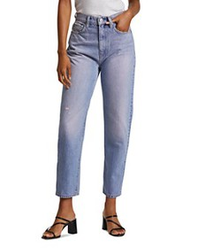 Hudson - Elly Extreme High-Waist Cropped Straight