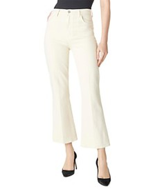 J Brand - Julia High-Rise Ankle Flare Jeans in Ama