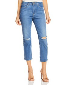 Levi's - 724 Ripped Straight-Leg Jeans in New York