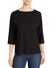 Eileen Fisher - Boat-Neck Boxy Top