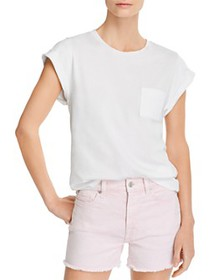 7 For All Mankind - Cotton Cuffed Tee