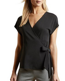 Ted Baker - Sesiee Faux-Wrap Top