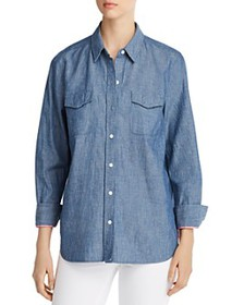 Tommy Bahama - Have You Scenic Embroidered Chambra