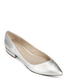 Kenneth Cole - Women's Camelia Pointed-Toe Ballet