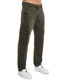Diesel - D-Krett Slim Fit Jogger Jeans in Green