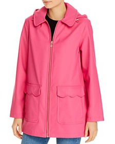 kate spade new york - Scallop-Trim Coat