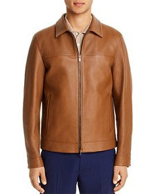 Theory - Roscoe Leather Regular Fit Jacket - 100%