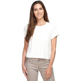 Marine Layer Crop Pocket T-Shirt - Women's