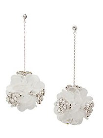 Kate Spade New York Rhodium-Plated Blooming Bouque