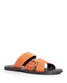 Salvatore Ferragamo - Men's Atina Leather Slide Sa