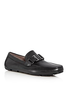 Salvatore Ferragamo - Men's Sardegna Leather Moc T
