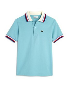 Lacoste - Boys' Striped-Trim Polo Shirt - Little K