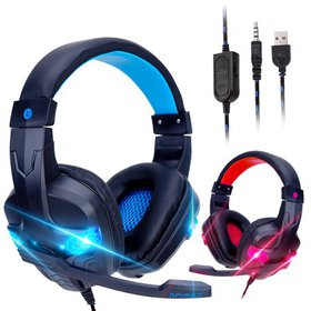 TSV Gaming Headset with 3D Surround Sound, PS4 Xbo