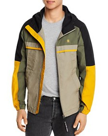 G-STAR RAW - Color-Blocked Hooded Regular Fit Jack