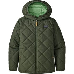 Patagonia Diamond Quilt Hooded Insulated Jacket -