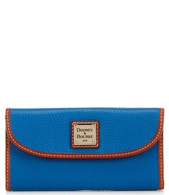 Dooney & Bourke Pebble Continental Clutch Colorblo