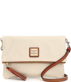 Dooney & Bourke Pebble Collection Fold-Over Tassel