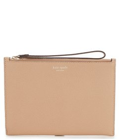 kate spade new york Margaux Small Zip Leather Wris