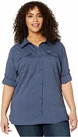 Columbia Plus Size Silver Ridge Lite Long Sleeve S