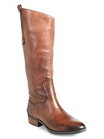 Sam Edelman Penny Riding Boots - Wide Calf WHISKEY