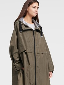 Donna Karan OVERSIZED HOODED RAINARACK