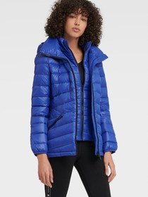 Donna Karan PACKABLE PUFFER JACKET