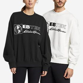 EBTek™ Graphic Crew Sweatshirt