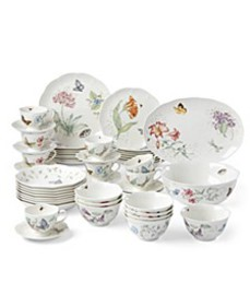 Butterfly Meadow 50-PC Dinnerware Set, Created for