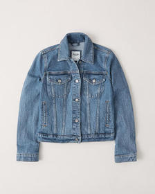 Denim Jacket, MEDIUM WASH