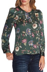 Vince Camuto Windsor Floral Puff Sleeve Blouse