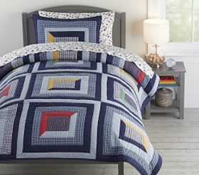 Pottery Barn Charlie Patchwork Quilt