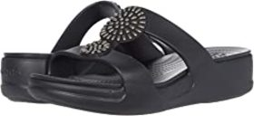 Crocs Monterey Diamante Slip-On Wedge