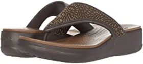 Crocs Monterey Diamante Wedge Flip