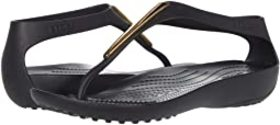 Crocs Serena Metallic Bar Flip