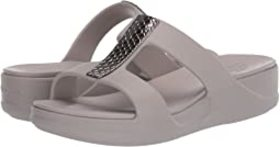 Crocs Monterey Metallic Slip-On Wedge
