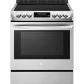 LG - 6.3 Cu. Ft. Self-Cleaning Slide-In Electric I