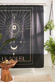 cafelab For Deny Soleil Shower Curtain