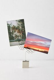 Wing Wire Photo Clip Stand