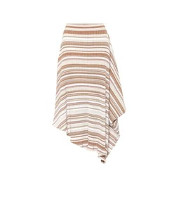 JW Anderson Striped wool skirt