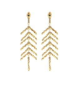 Chloé Connie embellished earrings