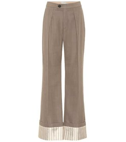 Chloé Virgin wool wide-leg pants