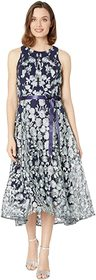 Tahari by ASL Flare Skirt Party Dress